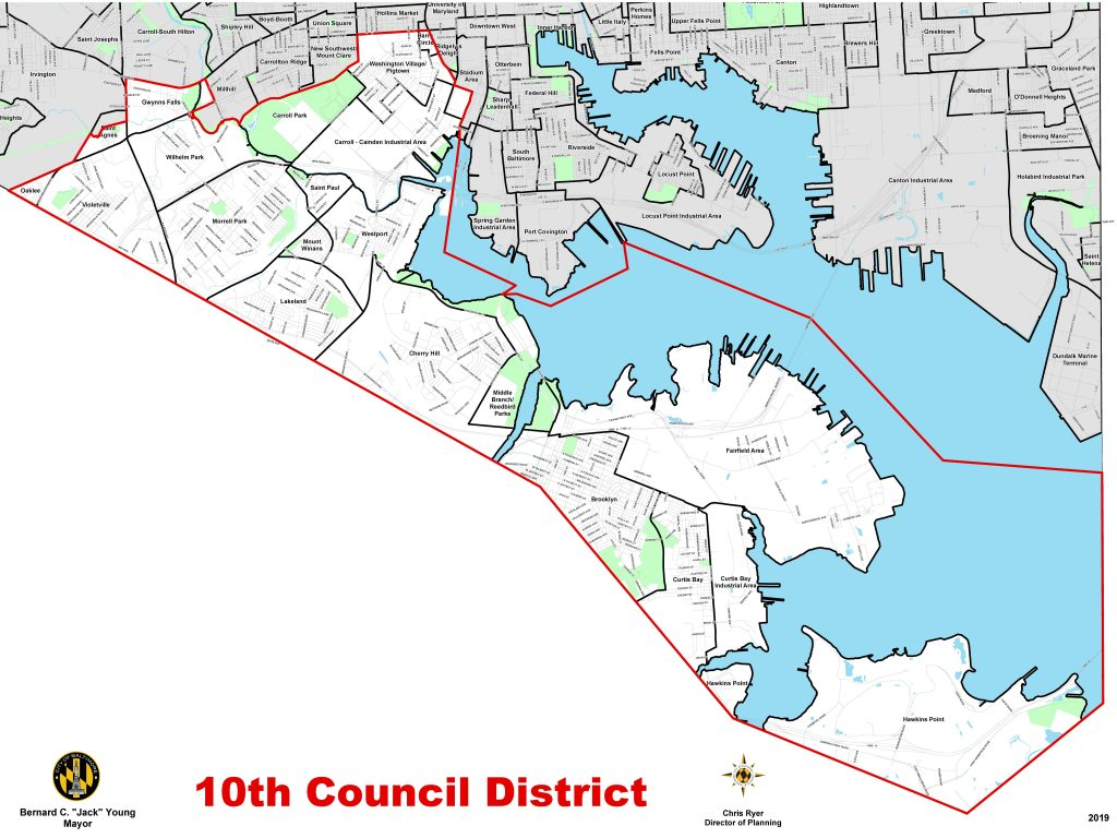Baltimore 10th Council District